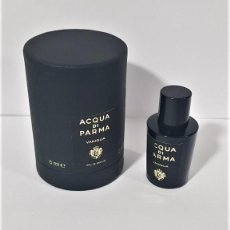 Miniaturas de perfumes antiguos: NOVEDAD 2019 !!! MINIATURA ACQUA DI PARMA SIGNATURES OF THE SUN VANIGLIA EDP 5 ML. Lote 194782210