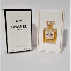 Miniaturas de perfumes antiguos: MINIATURA CHANEL Nº 5 EDP 1,5 ML. Lote 194782623