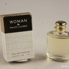 Miniaturas de perfumes antiguos: NOVEDAD 2018 !!! MINIATURA RALPH LAUREN WOMAN EDP 7 ML. Lote 194905985