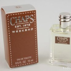 Miniaturas de perfumes antiguos: MINIATURA RALPH LAUREN CHAPS WEEKEND EDT 15 ML. Lote 194906067