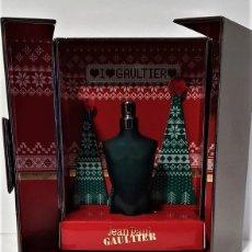 Miniaturas de perfumes antiguos: MINIATURA JEAN PAUL GAULTIER LE MALE EDICIÓN ESPECIAL NAVIDAD 2018 EDT 3,5 ML. Lote 194906208