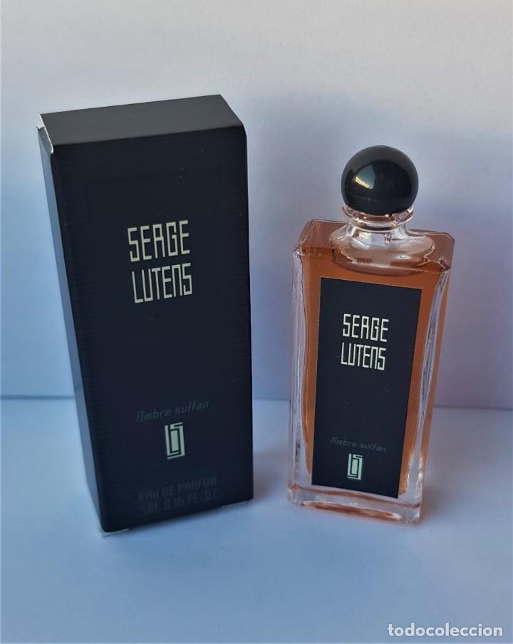 NOVEDAD 2018 !!! MINIATURA SERGE LUTENS AMBRE SULTAN EDP 5 ML (Coleccionismo - Miniaturas de Perfumes)