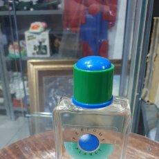 Miniaturas de perfumes antiguos: DIFÍCIL COLONIA PLANET DE MYRURGIA 100 ML. COMPLETA. Lote 194960050