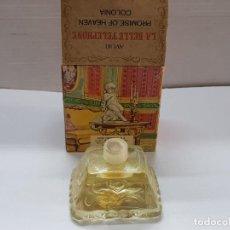Miniaturas de perfumes antiguos: COLONIA AVON LA BELLE TELEPHONE LLENA EN CAJA ORIGINAL DIFICIL. Lote 194988240