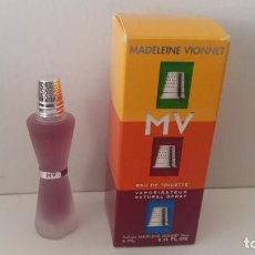 Miniaturas de perfumes antiguos: MINIATURA MADELEINE VIONNET MV. Lote 195020370