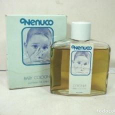Miniaturas de perfumes antiguos: ANTIGUA COLONIA NENUCO - , BARCELONA REF: 0103 - LLENA - FRASCO CRISTAL - BOTE PERFUME BOTELLA. Lote 195039851