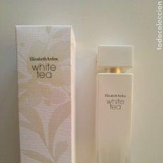 Miniaturas de perfumes antiguos: FRASCO VACÍO 100 ML WHITE TEA DE ELIZABETH ARDEN. Lote 195061248