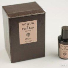 Miniaturas de perfumes antiguos: NOVEDAD 2018 MINIATURA ACQUA DI PARMA COLONIA EBANO EDC CONCENTRÉE 5 ML . Lote 195127520