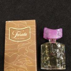 Miniaturas de perfumes antiguos: MINIATURA FARALA, 6ML. LLENA Y EN EMBASE ORIGINAL.. Lote 195134750