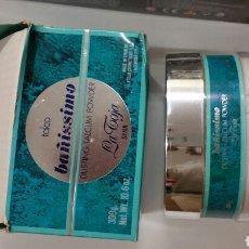 Miniaturas de perfumes antiguos: BAÑISSIMO POLVO TALCO LA TOJA. Lote 195141427