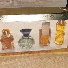 Miniaturas de perfumes antiguos: LOTE DE 5 BOTELLITAS PERFUMES MINIATURA CO2 JEANNE ARTHES. Lote 195170688
