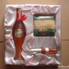Miniaturas de perfumes antiguos: ESTUCHE VERA VENTOLERA. Lote 195177740