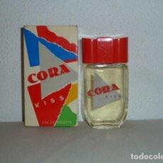 Miniaturas de perfumes antiguos: COLONIA CORA KISS 100ML. LOUS PHILIPPE MONACO. NUEVA, SIN USO. Lote 195238773