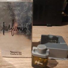 Miniaturas de perfumes antiguos: MINIATURA PERFUMUS NAZARENO GABRIELLI. Lote 195333577