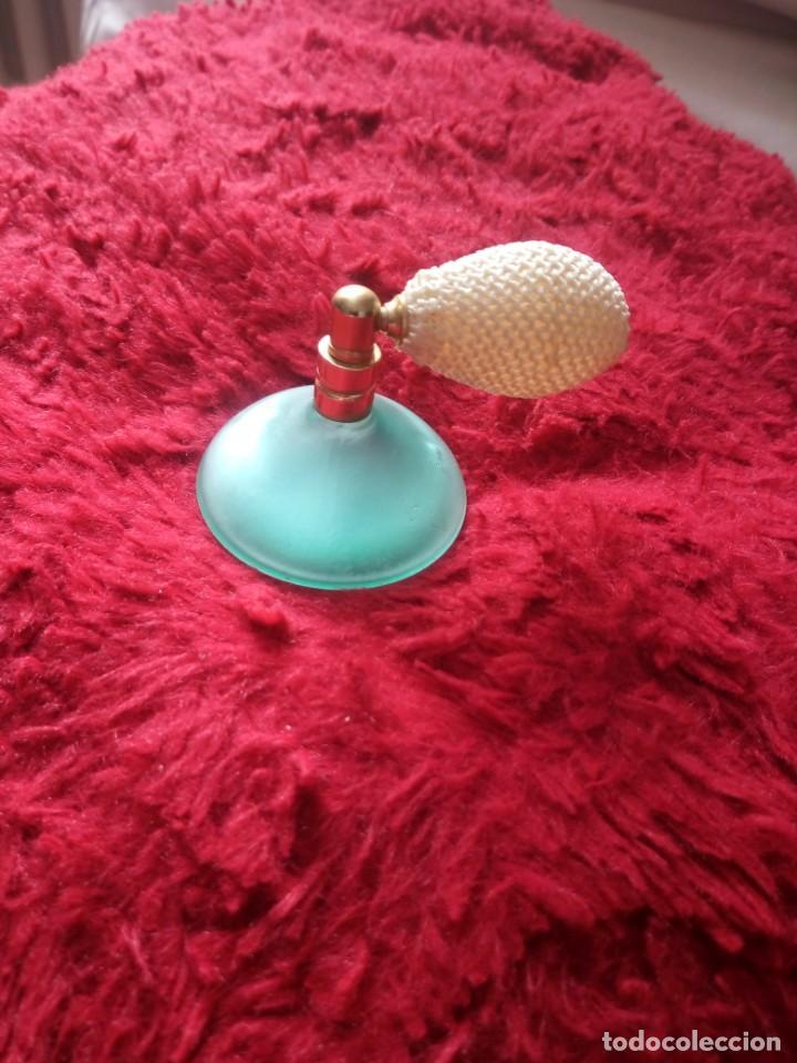 PRECIOSO PERFUMERO DE CRISTAL CON PERA.VIE PRIVEE (Coleccionismo - Miniaturas de Perfumes)