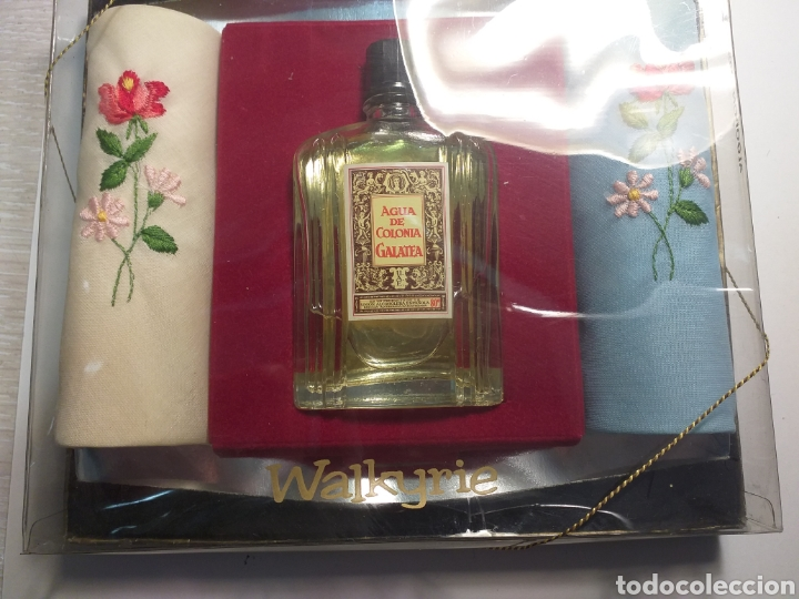 COLONIA GALATEA CON 2 PAÑUELOS (Coleccionismo - Miniaturas de Perfumes)