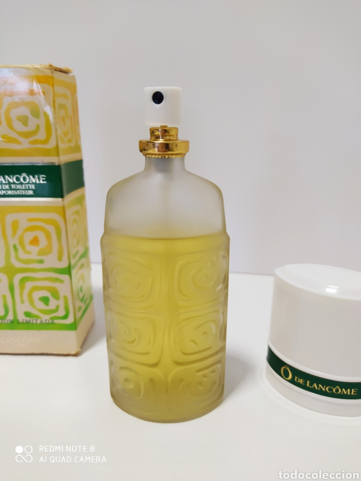 Miniaturas de perfumes antiguos: colonia O de Lancome 75 ml edición limitada - Foto 6 - 195374876