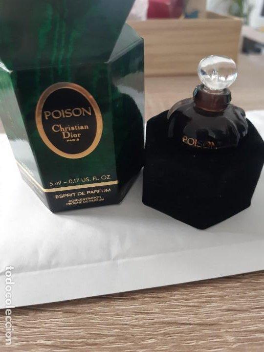 MINIATURA POISON ESPRIT DA PARFUM (Coleccionismo - Miniaturas de Perfumes)