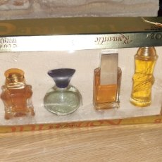 Miniaturas de perfumes antiguos: CAJA CON 5 PERFUMES MINIATURA JEANNE ARTHES. Lote 195443945