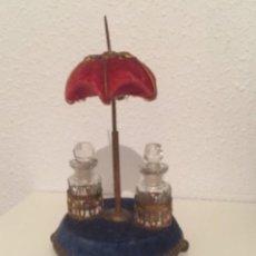 Miniaturas de perfumes antiguos: JOYA PERFUMERO SIGLO XIX. Lote 195479583