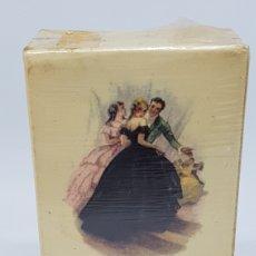 Miniaturas de perfumes antiguos: LOCION PROMESA MYRURGIA 488 PEQUEÑO 1 5/8 PRECINTADO NUEVO SIN USO. Lote 195536246