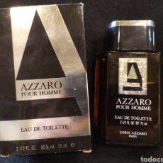 Miniaturas de perfumes antiguos: AZZARO POUR HOMME. EAU TOILETTE 75ML. VINTAGE.. Lote 195541867