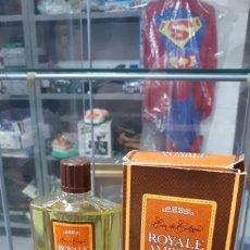 Miniaturas de perfumes antiguos: FRASCO COMPLETO ROYALE AMBREE LEGRAIN PARIS 180 ML.. Lote 195546515