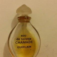 Miniaturas de perfumes antiguos: MINIATURA PERFUME CHAMADE GUERLAIN 1969. UN HIMNO AL AMOR POR JEAN _ PAUL GUERLAIN. Lote 196276672