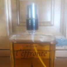 Miniaturas de perfumes antiguos: ANTIGUO FRASCO DE EAU DE TOILETTE, L,EFFONTE. Lote 196983952