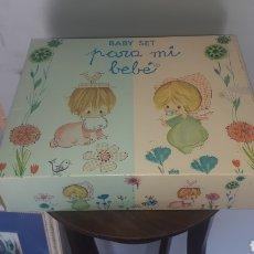 Miniaturas de perfumes antiguos: CONJUNTO BABY SET PARA MI BEBE DE VERA NUEVO. Lote 197080338