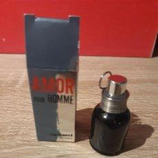 Miniaturas de perfumes antiguos: MINIATURA AMOR POUR HOMME. Lote 198490807