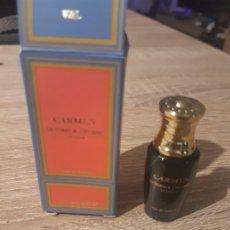 Miniaturas de perfumes antiguos: MINIATURA CARMEN. Lote 198576218