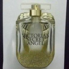 Miniaturas de perfumes antiguos: FRASCO DE PERFUME VICTORIA'S SECRET. / ANGEL/ CON SUS ALAS DORADAS. 50 ML. VACÍO.. Lote 198897287