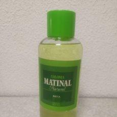 Miniaturas de perfumes antigos: COLONIA MATINAL NATURAL - 1 LITRO - NUEVA - A ESTRENAR - CASA MAS S.A - BARCELONA - DESCATALOGADA. Lote 199669315