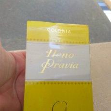 Miniaturas de perfumes antiguos: COLONIA HENO DE PRAVIA DE GAL - NUEVO PRECINTADO -. Lote 111900703