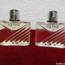 Miniaturas de perfumes antigos: EQUINOX. COLONIA Y AFTER SHAVE. NUEVO. Lote 204786936