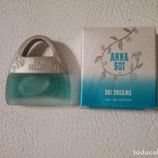 Miniaturas de perfumes antiguos: MINIATURA DE EAU DE TOILETTE SIU DREAMS. ANNA SUI. NEW YORK. Lote 204828113