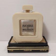 Miniaturas de perfumes antiguos: ANTIGUO PERFUME IVOIRE DE BALMAIN. Lote 205357315