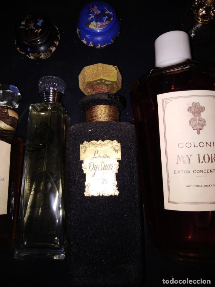 Miniaturas de perfumes antiguos: PERFUMES 8 BOTELLAS DE DIFERENTES TAMAÑOS COLONIA MY LORD EXTRA RUSIA MONTREAL - Foto 4 - 205573052