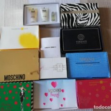 Miniaturas de perfumes antiguos: LOTE DE MINIATURAS DE PERFUMES EN SU CAJA ORIGINAL. Lote 206358035