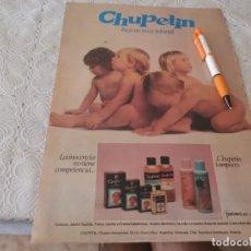 Miniaturas de perfumes antiguos: COLONIA E HIGIENE BEBÉ CHUPETIN ANTIGUO ANUNCIO PUBLICIDAD REVISTA. Lote 206773142