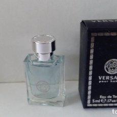 Miniaturas de perfumes antiguos: MINIATURA VERSACE POUR HOMME. Lote 207362706