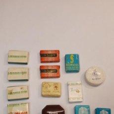 Miniaturas de perfumes antiguos: LOTE JABONES MINIATURA. Lote 207607765