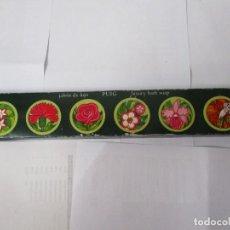 Miniaturas de perfumes antiguos: CAJA DE JABÓN DE LUJO PUIG CON 6 UNIDADES VINTAGE. Lote 207781388