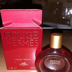 Miniaturas de perfumes antiguos: ROUGE HERMES 5 ML.. Lote 208882485