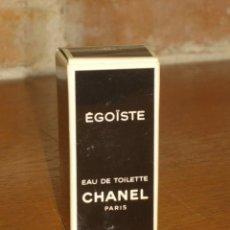 Miniaturas de perfumes antiguos: MINIATURA DE PERFUME O COLONIA EGOISTE DE CHANEL,PARIS.. Lote 209692422