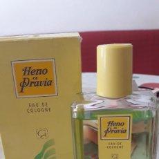 Miniaturas de perfumes antiguos: HENO DE PRAVIA GAL IBERCAJA 100 ML.. Lote 209928226