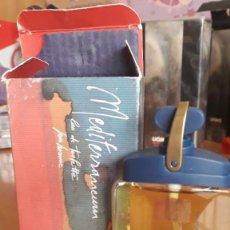 Miniaturas de perfumes antigos: MEDITERRANEUM EAU DE TOILETTE POUR HOMME 50 ML. Lote 210019641