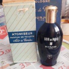 Miniaturas de perfumes antiguos: ATOMISEUR PARFUM DE TOILETTE SOIR DE PARIS N 3 222. Lote 223592432