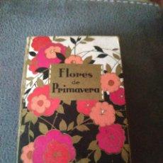 Miniaturas de perfumes antigos: COLONIA PERFUME FLORES DE PRIMAVERA GAL. Lote 211610271